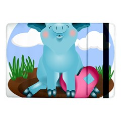 Pig Animal Love Samsung Galaxy Tab Pro 10 1  Flip Case by Nexatart