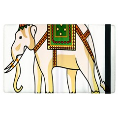 Elephant Indian Animal Design Apple Ipad Pro 12 9   Flip Case