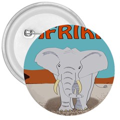 Africa Elephant Animals Animal 3  Buttons