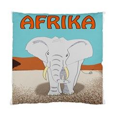 Africa Elephant Animals Animal Standard Cushion Case (two Sides) by Nexatart