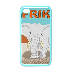 Africa Elephant Animals Animal Apple Iphone 4 Case (color)