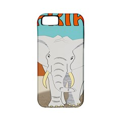 Africa Elephant Animals Animal Apple Iphone 5 Classic Hardshell Case (pc+silicone) by Nexatart