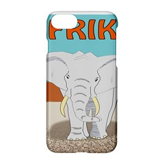 Africa Elephant Animals Animal Apple Iphone 7 Hardshell Case by Nexatart