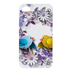 Flowers Floral Flowery Spring Apple Iphone 4/4s Premium Hardshell Case