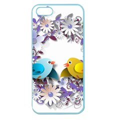 Flowers Floral Flowery Spring Apple Seamless Iphone 5 Case (color)