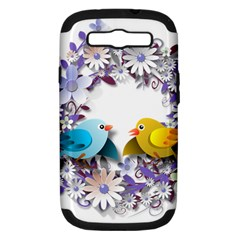 Flowers Floral Flowery Spring Samsung Galaxy S Iii Hardshell Case (pc+silicone) by Nexatart