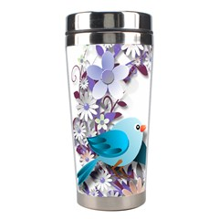 Flowers Floral Flowery Spring Stainless Steel Travel Tumblers by Nexatart