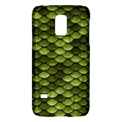 Green Mermaid Scales   Galaxy S5 Mini by paulaoliveiradesign