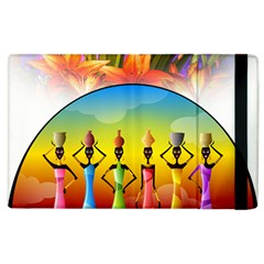 African American Women Apple Ipad 3/4 Flip Case by AlteredStates