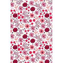Red Floral Seamless Pattern 5 5  X 8 5  Notebooks by TastefulDesigns
