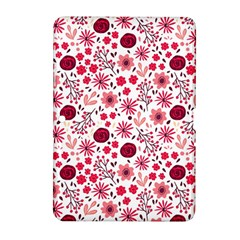 Red Floral Seamless Pattern Samsung Galaxy Tab 2 (10 1 ) P5100 Hardshell Case  by TastefulDesigns
