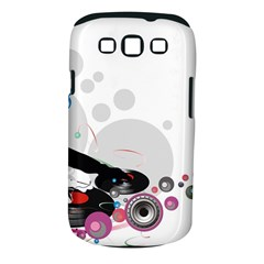 Dj Record Music Lovers 23605 3840x2400 Samsung Galaxy S Iii Classic Hardshell Case (pc+silicone)