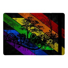 Trees Stripes Lines Rainbow  Apple Ipad Pro 10 5   Flip Case
