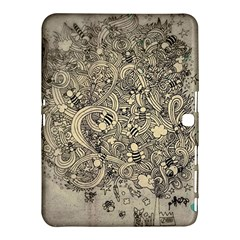 Patterns Dog Line Shape  Samsung Galaxy Tab 4 (10 1 ) Hardshell Case  by amphoto