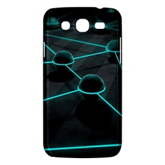 3d Balls Rendering Lines  Samsung Galaxy Mega 5 8 I9152 Hardshell Case  by amphoto