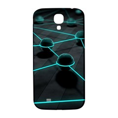 3d Balls Rendering Lines  Samsung Galaxy S4 I9500/i9505  Hardshell Back Case by amphoto