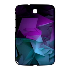 Abstract Shapes Purple Green  Samsung Galaxy Note 8 0 N5100 Hardshell Case  by amphoto