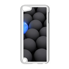 Balls Dark Neon Light Surface  Apple Ipod Touch 5 Case (white) by amphoto