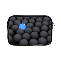 Balls Dark Neon Light Surface  Apple Ipad Mini Zipper Cases by amphoto