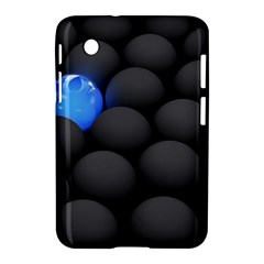 Balls Dark Neon Light Surface  Samsung Galaxy Tab 2 (7 ) P3100 Hardshell Case  by amphoto