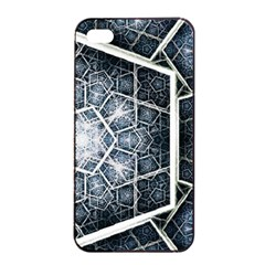 Form Glass Mosaic Pattern 47602 3840x2400 Apple Iphone 4/4s Seamless Case (black) by amphoto