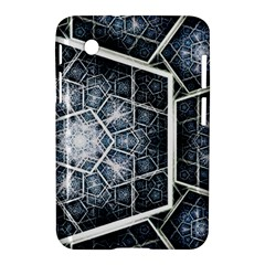 Form Glass Mosaic Pattern 47602 3840x2400 Samsung Galaxy Tab 2 (7 ) P3100 Hardshell Case  by amphoto