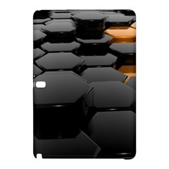 Orange Black Samsung Galaxy Tab Pro 12 2 Hardshell Case by amphoto