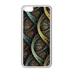 Line Semi Circle Background Patterns 82323 3840x2400 Apple Iphone 5c Seamless Case (white) by amphoto