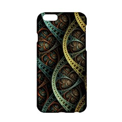Line Semi Circle Background Patterns 82323 3840x2400 Apple Iphone 6/6s Hardshell Case by amphoto
