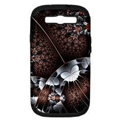 Lines Background Light Dark 81522 3840x2400 Samsung Galaxy S Iii Hardshell Case (pc+silicone) by amphoto