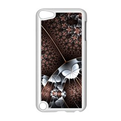 Lines Background Light Dark 81522 3840x2400 Apple Ipod Touch 5 Case (white) by amphoto