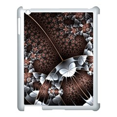Lines Background Light Dark 81522 3840x2400 Apple Ipad 3/4 Case (white) by amphoto