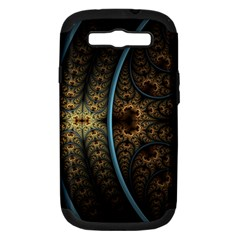 Lines Dark Patterns Background Spots 82314 3840x2400 Samsung Galaxy S Iii Hardshell Case (pc+silicone) by amphoto
