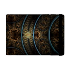 Lines Dark Patterns Background Spots 82314 3840x2400 Ipad Mini 2 Flip Cases by amphoto