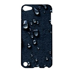 Surface Texture Drops Moisture 18094 3840x2400 Apple Ipod Touch 5 Hardshell Case by amphoto