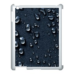 Surface Texture Drops Moisture 18094 3840x2400 Apple Ipad 3/4 Case (white) by amphoto