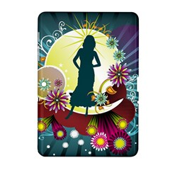 Abstraction Vector Heavens Woman Flowers  Samsung Galaxy Tab 2 (10 1 ) P5100 Hardshell Case  by amphoto