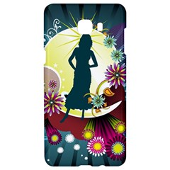 Abstraction Vector Heavens Woman Flowers  Samsung C9 Pro Hardshell Case