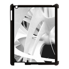 Abstract Art 4k Resolution Wallpaper  Apple Ipad 3/4 Case (black) by amphoto