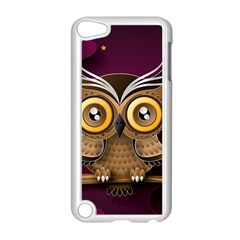 Owl Bird Art Branch 97204 3840x2400 Apple Ipod Touch 5 Case (white) by amphoto