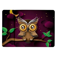 Owl Bird Art Branch 97204 3840x2400 Samsung Galaxy Tab 10 1  P7500 Flip Case by amphoto