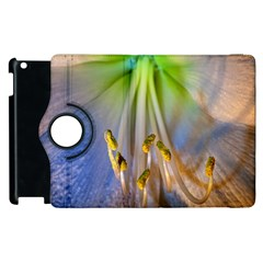 Flower Petals Stamens Apple Ipad 2 Flip 360 Case by amphoto