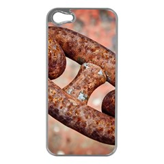 Chain Fixture Rust 106586 3840x2400 Apple Iphone 5 Case (silver) by amphoto