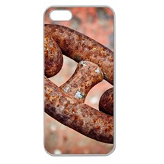 Chain Fixture Rust 106586 3840x2400 Apple Seamless Iphone 5 Case (clear) by amphoto