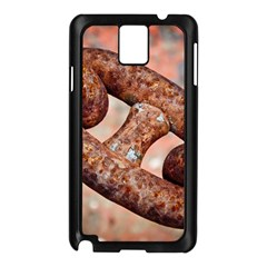 Chain Fixture Rust 106586 3840x2400 Samsung Galaxy Note 3 N9005 Case (black) by amphoto