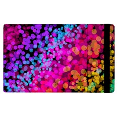 Colorful Community Glare Bright  Apple Ipad 3/4 Flip Case by amphoto
