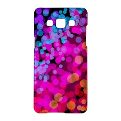 Colorful Community Glare Bright  Samsung Galaxy A5 Hardshell Case  by amphoto