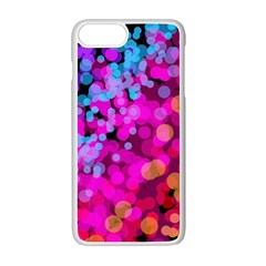 Colorful Community Glare Bright  Apple Iphone 7 Plus White Seamless Case by amphoto