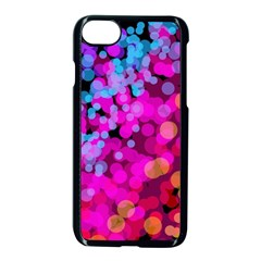 Colorful Community Glare Bright  Apple Iphone 7 Seamless Case (black) by amphoto