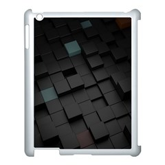 Blackcubes  Apple Ipad 3/4 Case (white) by amphoto